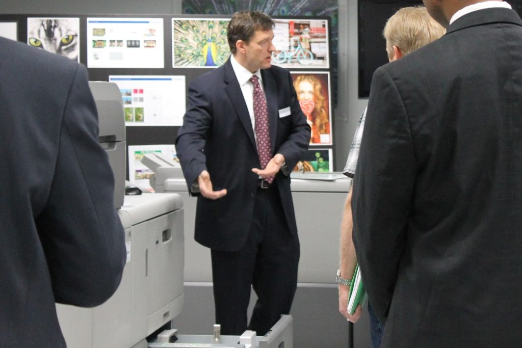 Heidelberg hosts customers for Game Changing Digital Showcase