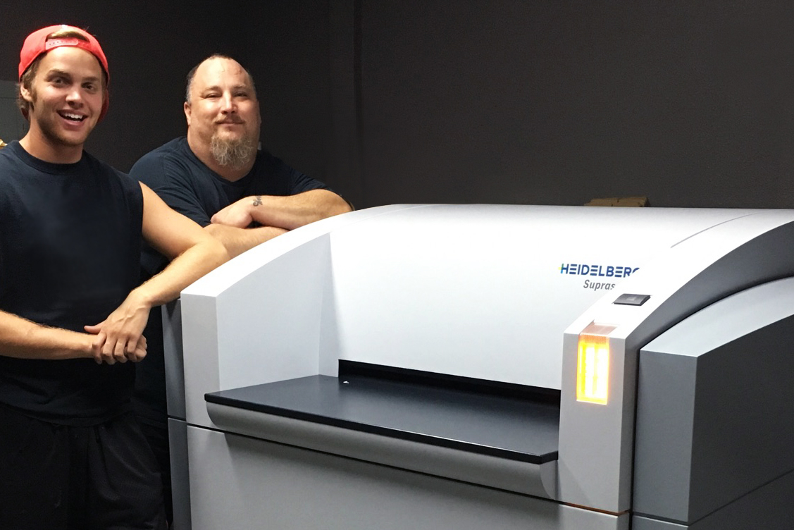 Walker Printing Improves Eco-Friendliness with New Heidelberg Prepress