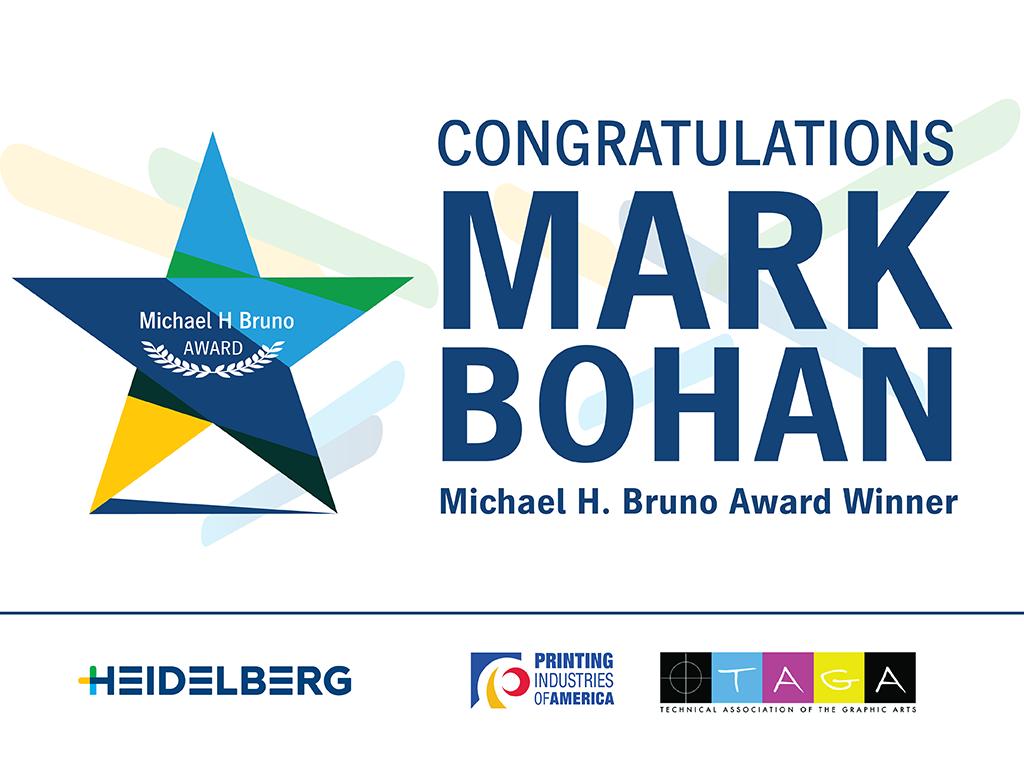 Congratulations Mark Bohan