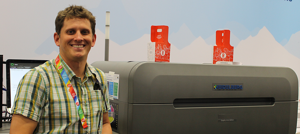 Riddle Press Now Offers High-Quality, Short Run Packaging with Heidelberg's Versafire EP