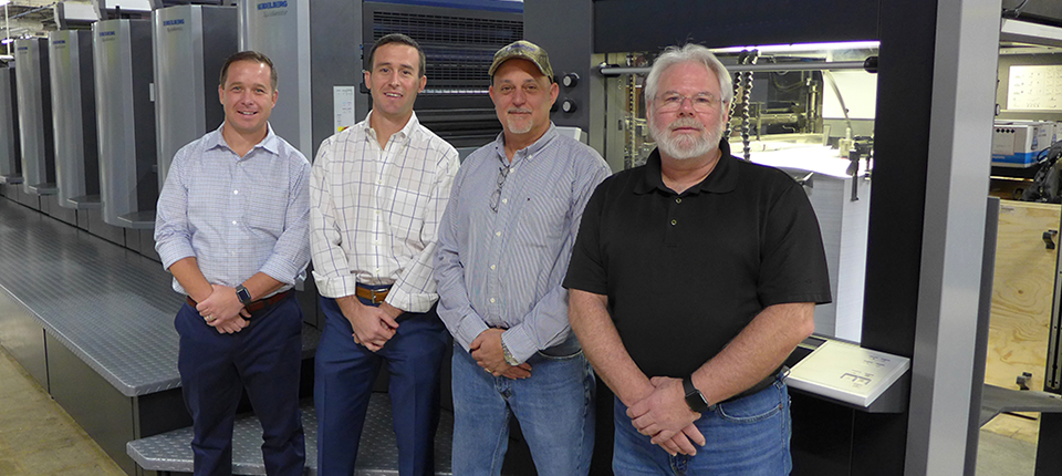 Wallace Graphics Transforms Print Shop with Heidelberg Investments in all Stages of Production