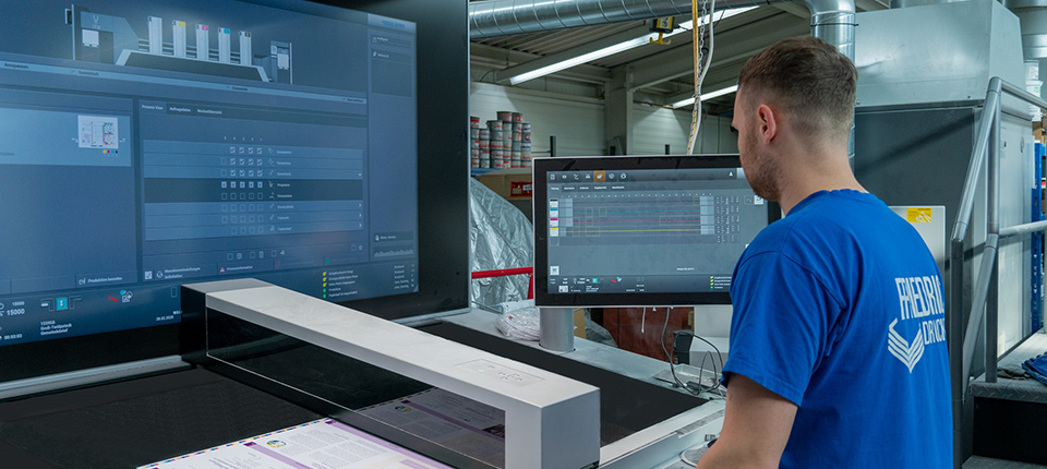 Commercial printing company invests in automation with the Speedmaster XL 75 and the new Heidelberg Operating System
