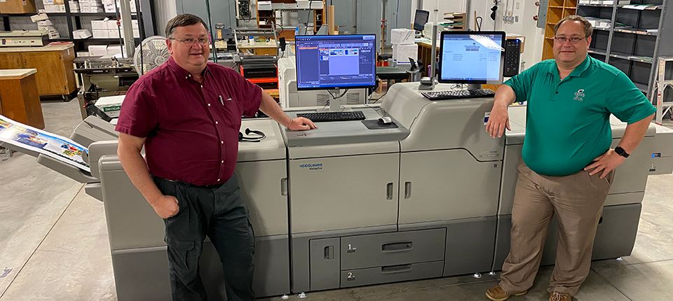 Campbell Print Center Continues to Trust Heidelberg's Versafire Digital Presses with High Quality, Industry-Leading Efficiencies