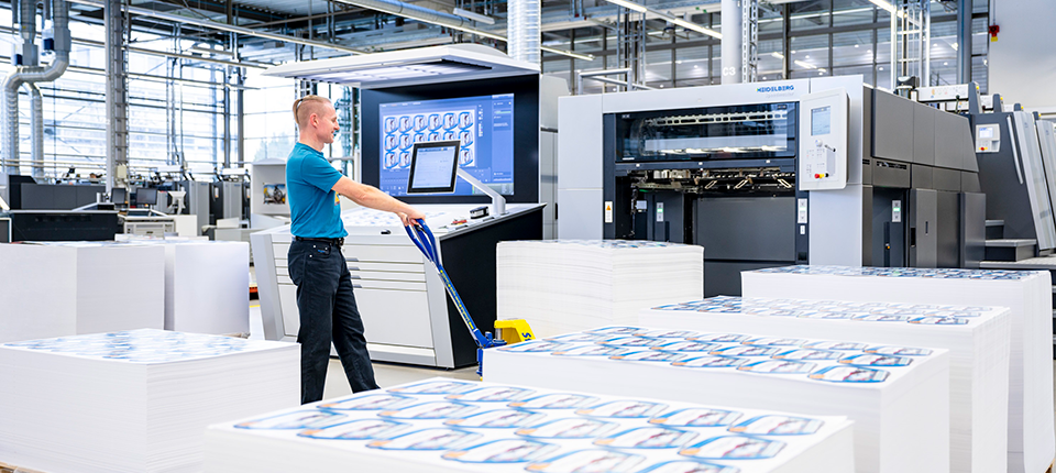Now available: New contract options from Heidelberg boost overall efficiency of print shops