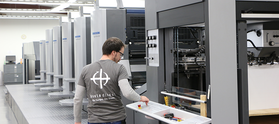 Davis Direct Invests in New Heidelberg Speedmaster CD 102 to Help Expand Company's Capacity