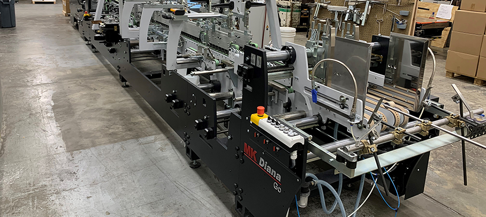Riddle Press Continues Investments in Heidelberg's Scalable Solutions with Easymatrix 106 CS and Diana Go 85