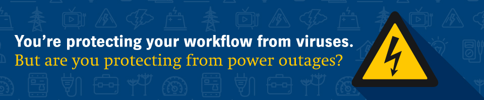 IS YOUR PRINT SHOP READY FOR A POWER FAILURE?