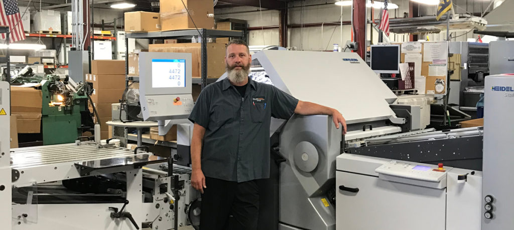Allied Media Well Prepared for Campaign Season with Stahlfolder KH 82 from Heidelberg