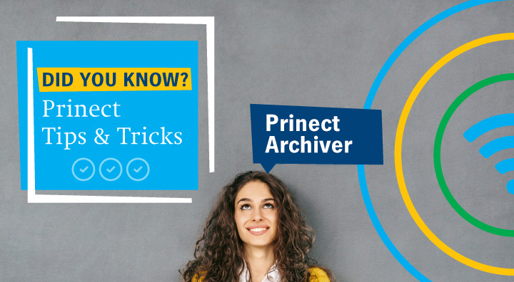 """Did You Know"" Prinect Archiver"