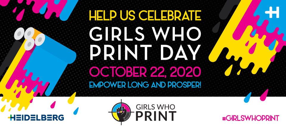 It's Girls Who Print Day! Check out our Top Posts from some of our Heidelberg Women!