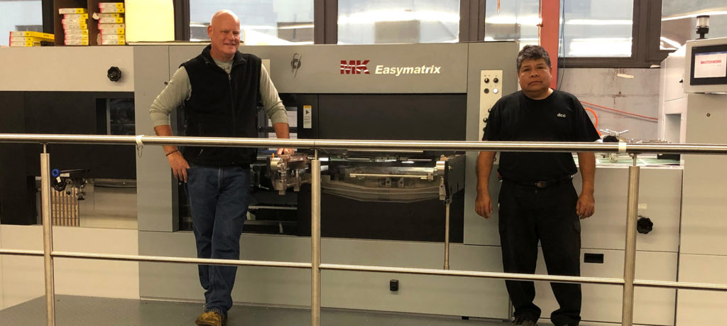 DCC Eliminates Downstream Bottlenecks with New Heidelberg Die Cutter & Folder Gluer