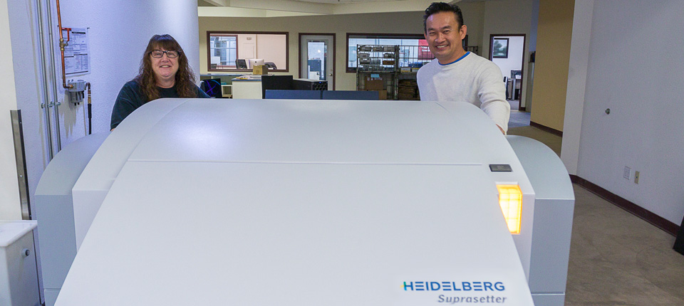 West Press Adds UV Capabilities, Cuts Makereadies by 80% with Heidelberg Speedmaster XL 75