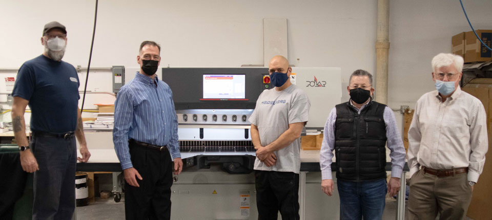Braintree Printing & Peczuh Printing Start 2021 with New Heidelberg Finishing Installations