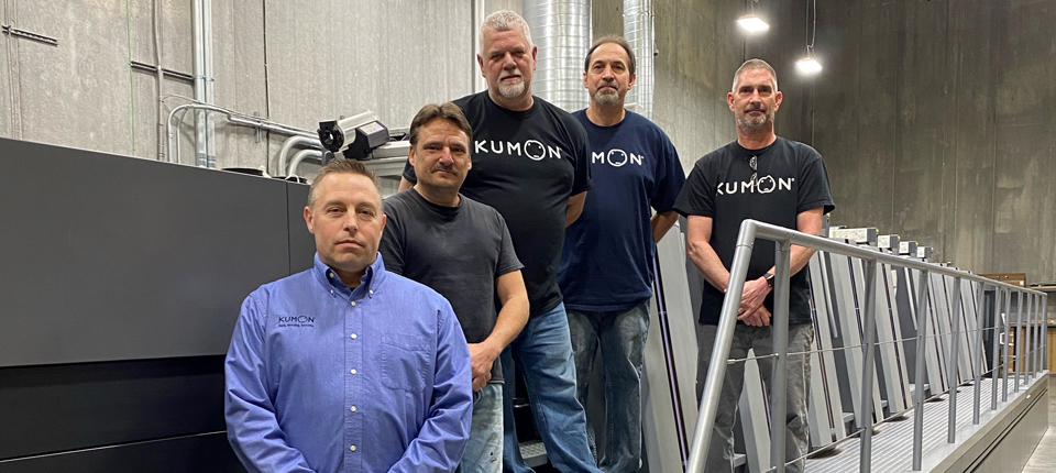 Kumon North America Makes First Heidelberg Investment in Speedmaster XL 106 & Full Suite of Saphira Consumables