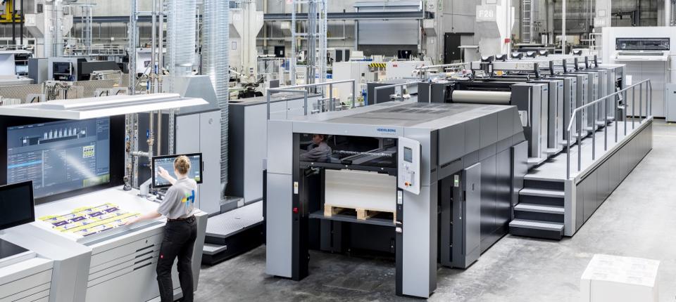 It's Showtime! – New Speedmaster CX 104 Underlines Technology Leadership of Heidelberg